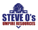 Steve O's Baseball Umpire Resources